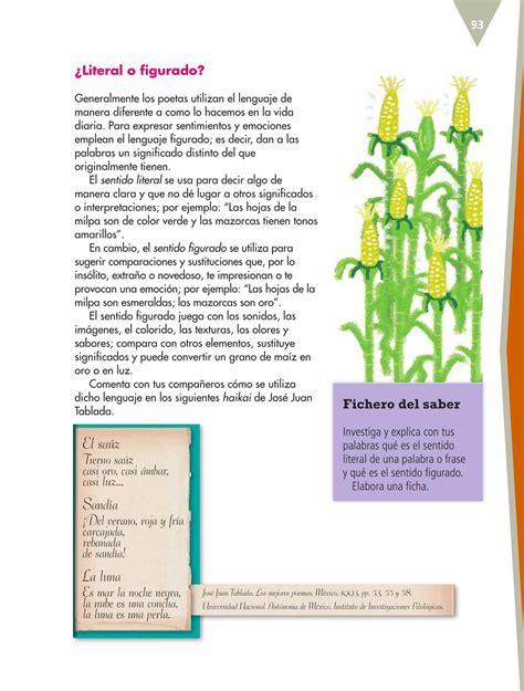 libro de texto de espaol de quinto grado 2015 2016 espa 241 ol quinto grado 2016 2017 libro de texto online