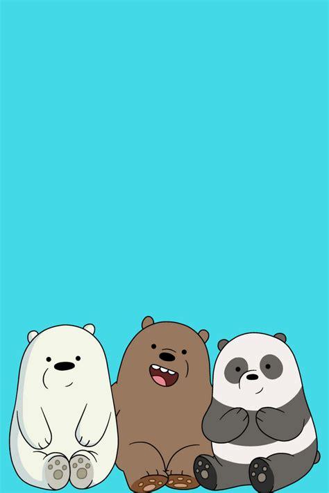 desenhos iphone wallpaper pinterest  bare bears