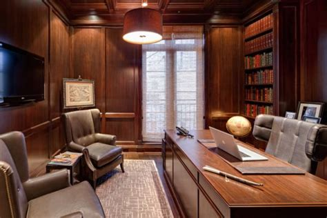 Home Trends Design Furniture by Wood Paneling Adds Elegance And Warmth To Your Home Office