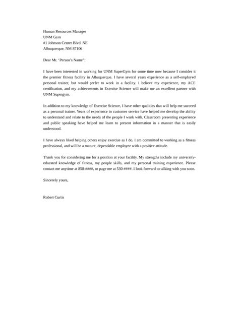 Motivation Letter Questions cover letter hr specialist position