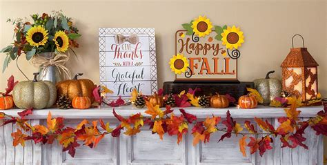 home fall decor fall home decor party city