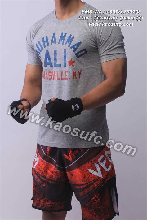 Kaos Ali 1 by Kaos Muhammad Ali Hanzo Fight Gear Order Via Sms Wa