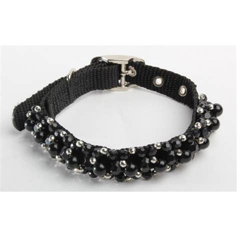 beaded collars fabucollar beaded collar jet paws couture pet boutique