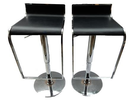 Chrome Swivel Counter Stools by Chrome Swivel Counter Bar Stools A Pair Chairish