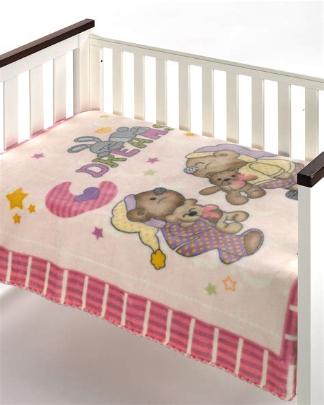 Luxury New Born Baby Cot Blanket Warm Soft Coat Toddler Moses Baby Crib