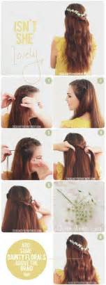 Cute Hairstyle Step By Step by Easy Step By Step Hairstyle Tutorials For Chic Girly