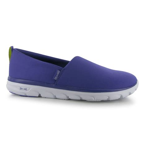 usa pro womens iolite slip on sneakers trainers