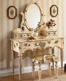 Bedroom Vanity Sets Painted Bedroom Vanity Set Home Furniture And Furnishings Vintage Vanity