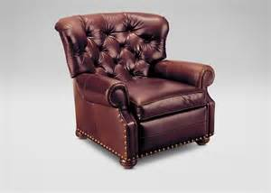 Leather Recliner Cromwell Leather Recliner Recliners