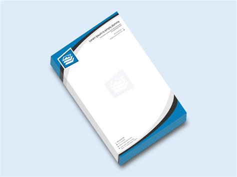 business letterhead psd template business letterhead design is a clean and modern template