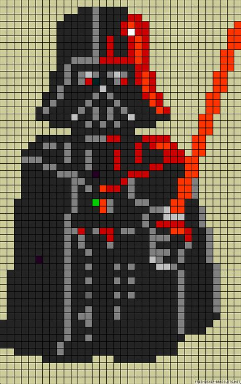 wars pixel templates wars darth vader perler bead pattern starwars pixel