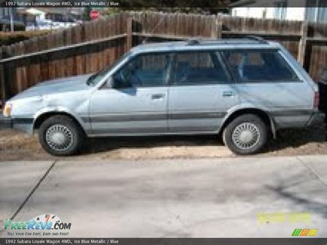 1992 subaru loyale 1992 subaru loyale information and photos zombiedrive