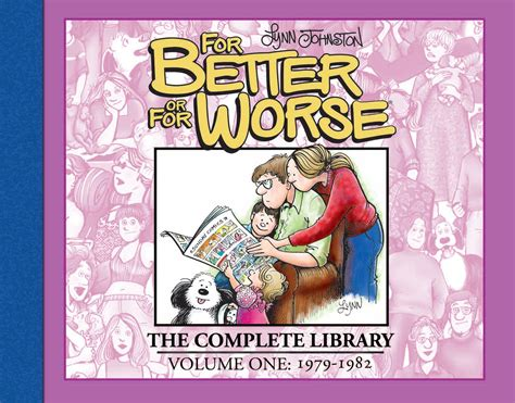 Novel For Better For Worse syndicated or graphic novel johnston on doing