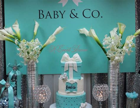 """Tiffany's / Baby Shower """"Baby & Co """"   Catch My Party"""