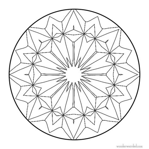 radial designs coloring pages 164 best mandalas images on pinterest