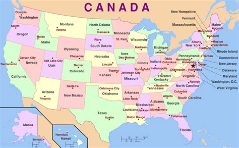 us map states and capitals song maps to accompany state capitals song of us