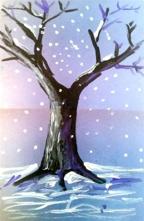 winter themed drawing angie villa art education easy winter themed art lesson