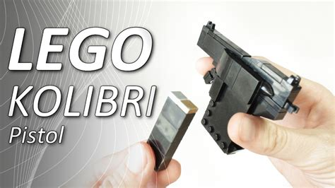lego weapons tutorial lego kolibri pistol tutorial viyoutube