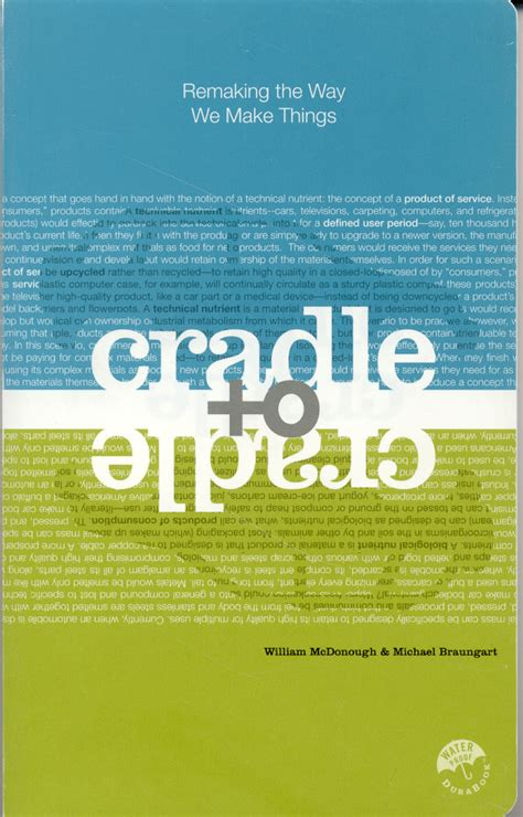 Cradle To Cradle Research Paper by Unit Sustainable Design