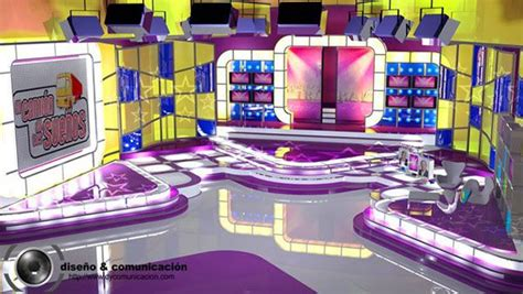 designing sets for oprah ellen tyra and now ricki the broadcast set studio design and construction on behance