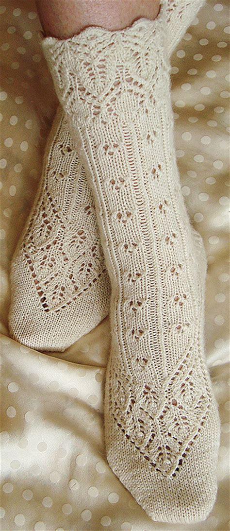socks pattern knitting free lingerie sock knitty first fall 2011