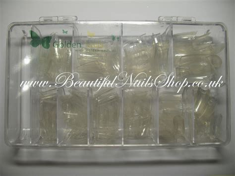 500pcs Clear Nails Half Tips Nail Extension 500pcs Clear False Nail Tips Half Well Pocket