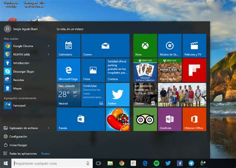 imagenes de inicio windows 10 disfruta del men 250 inicio cl 225 sico en windows 10 con classic