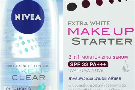 Nivea Makeup Clear nivea white makeup clear review makeup