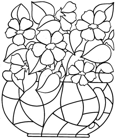 Color In Pages coloring pages flower coloring pages free