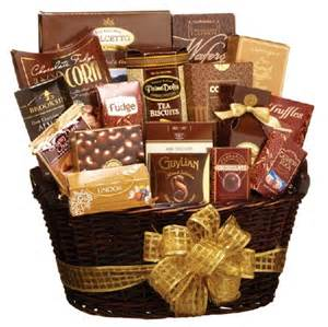 chocolate gift basket best gift baskets 7 unique ideas revloch