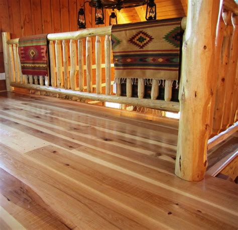 Rustic Hardwood Flooring Wide Plank Hickory Wide Plank Floors Rustic Hardwood Flooring