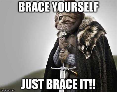 Brace Yourself Meme Maker - brace yourselves kitty keanu imgflip