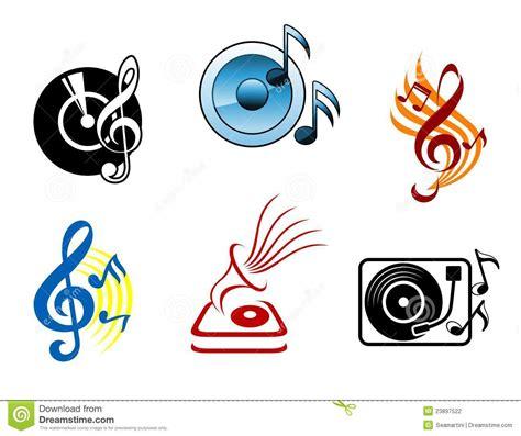 imagenes de simbolos foneticos iconos y s 237 mbolos musicales ilustraci 243 n del vector