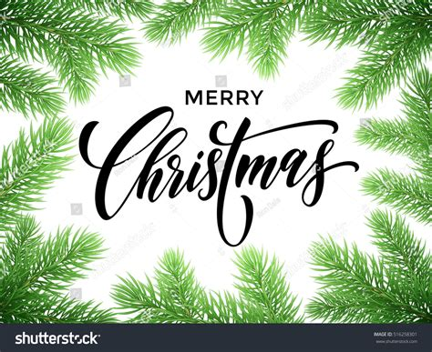 Merry Christmas Banner Christmas Greeting Card Stock Vector 516258301 Shutterstock Merry Banner Template