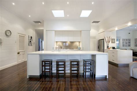 Galley Kitchen Designs With Island by Graceville Modern Kitchen By Makings Of Fine Kitchens