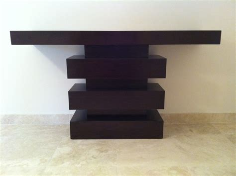 Modern Console Tables Robb And Stucky Furniture For 50 Modern Wood Console Table