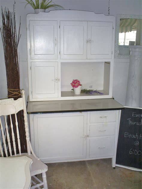 antique hoosier cabinet kitchen