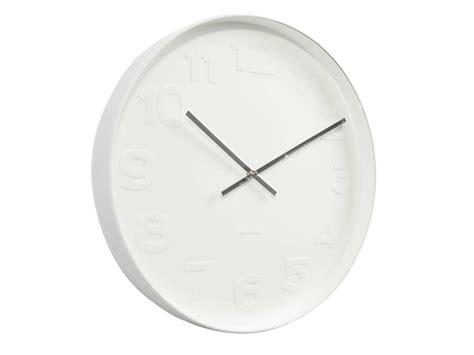 minimalist clock minimalist wall clock by peastyle notonthehighstreet com
