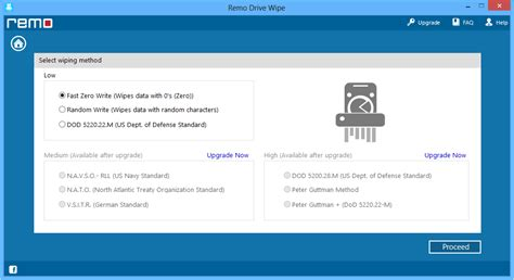 format hard drive permanently erase remo drive wipe free edition erase hard drive data