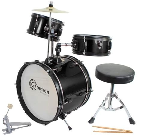 kid drum set drum set black complete junior kid s children s size with