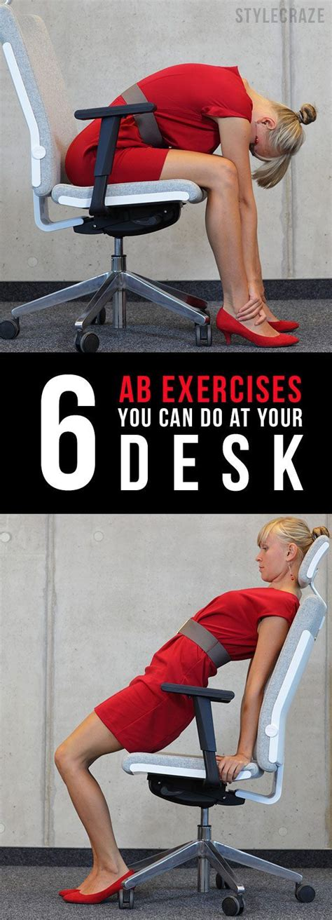 1000 ideas about office workouts on exercise and desk exercises