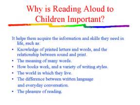 Importance Of Reading Essay by Why Reading Is Important Essay