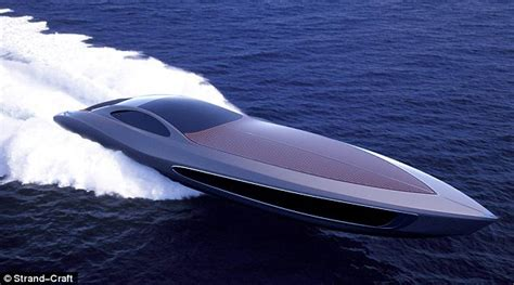 fast boats crashing the 163 17million yacht that comes with its own supercar but