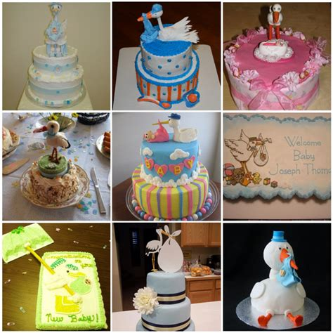 stork themed baby shower decorations stork baby shower cake ideas aa gifts baskets idea