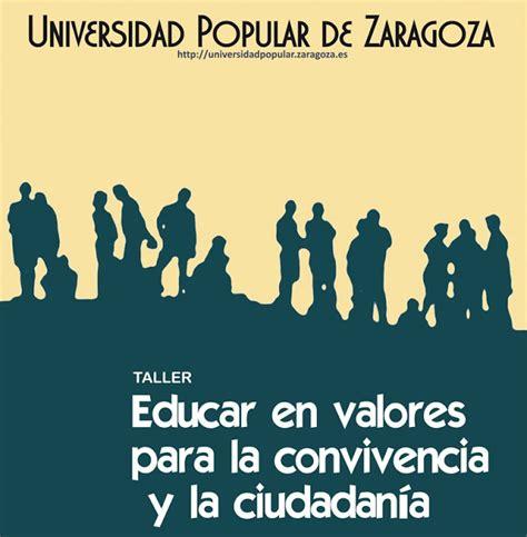 en favor de la tolerancia educaci 243 n por favor educar en valores para la convivencia y la ciudadan 205 a