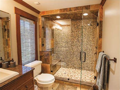 Bathroom Showers Designs by 15 Sleek And Simple Master Bathroom Shower Ideas Model