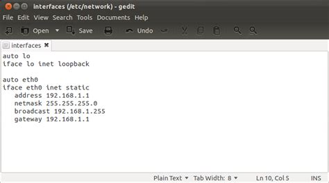 ubuntu manual ethernet configuration how to create a ubuntu 12 04 x64 ltsp server with 32bit