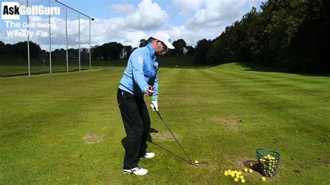 swaying golf swing the golf swing weekly fix plain sway and fat shots youtube