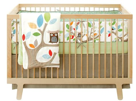 soho owl tree crib bedding baby bedding and