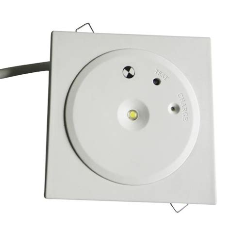 customized battery operated led recessed ceiling emergency